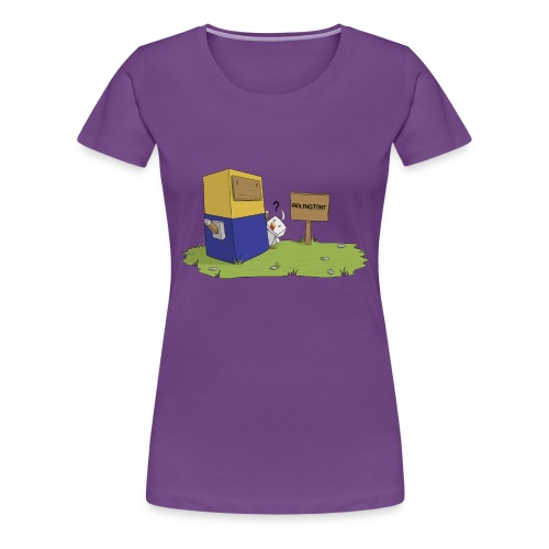 Mini Minion by Seiaeka - Women's Premium T-Shirt