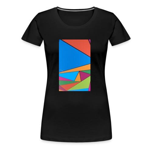 Colorful Geometry - Women's Premium T-Shirt