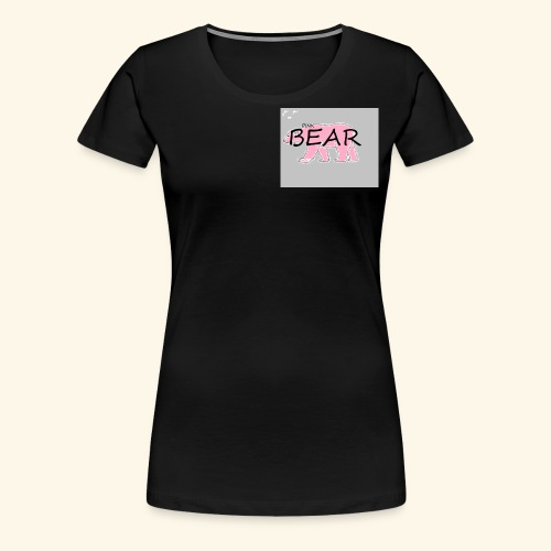 The Pink Bear - Women's Premium T-Shirt