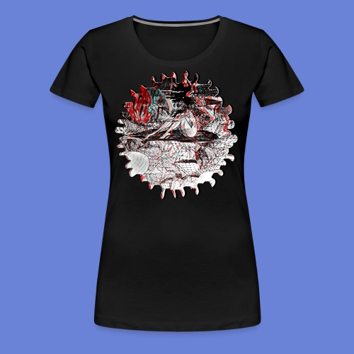 A Sleepy World NO 2 - Women's Premium T-Shirt
