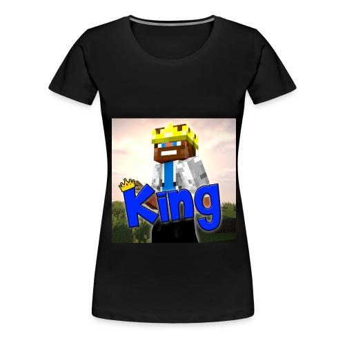 kingprofilepicture jpg - Women's Premium T-Shirt