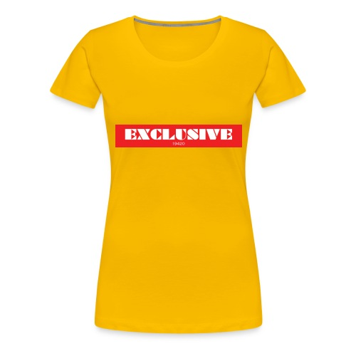 exclusive - Women's Premium T-Shirt