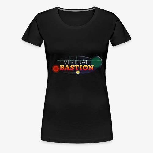 Virtual Bastion: Space Logo - Women's Premium T-Shirt