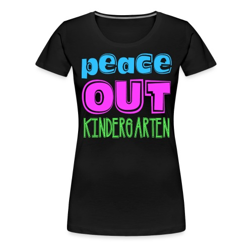 peace out - Women's Premium T-Shirt
