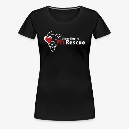 White SEPR Logo - Women's Premium T-Shirt