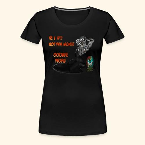 SKULL AND BONES METAL WOMAN - Women's Premium T-Shirt
