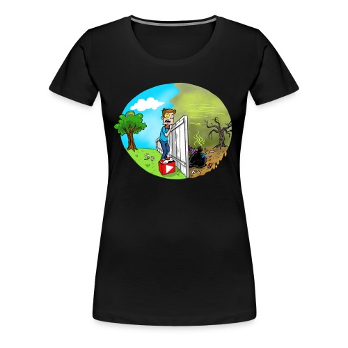 FUNnel Vision THE OTHER SIDE (Adults) - Women's Premium T-Shirt