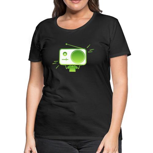 MusiqHead Green Ver 4 - Women's Premium T-Shirt