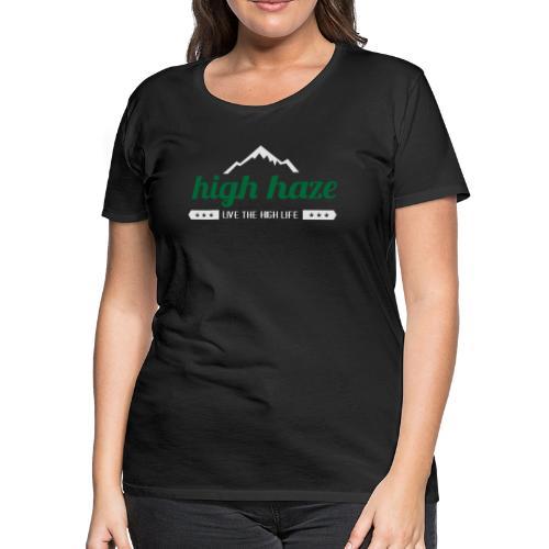 High Haze Logo - Women's Premium T-Shirt