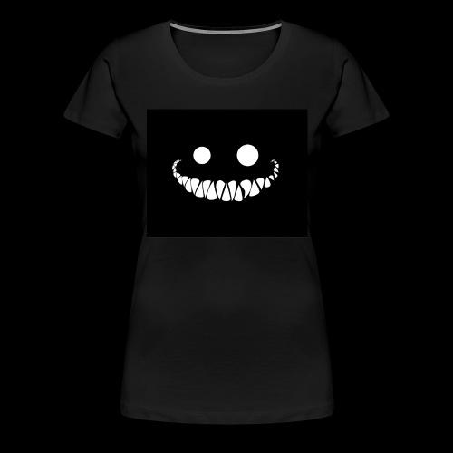 Creepy Smile - Women's Premium T-Shirt