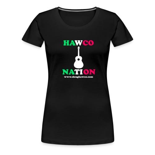 HAWCO NATION NEWFOUNDLAND - Women's Premium T-Shirt