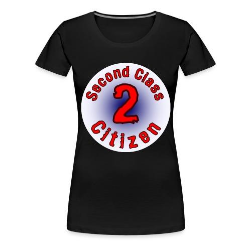 2nd Class Citizen Logo (Light) - Women's Premium T-Shirt