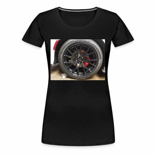 I have the wheel show me the way - Women's Premium T-Shirt