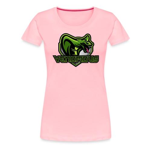 Venomous Text Logo - Women's Premium T-Shirt
