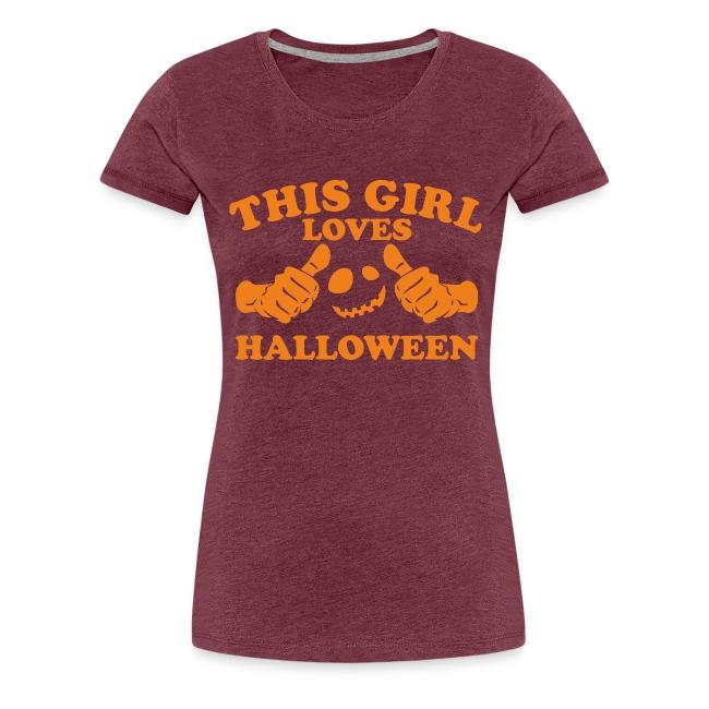 This Girl Loves Halloween