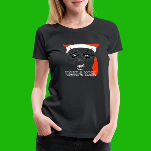 santa make a wish - Women's Premium T-Shirt