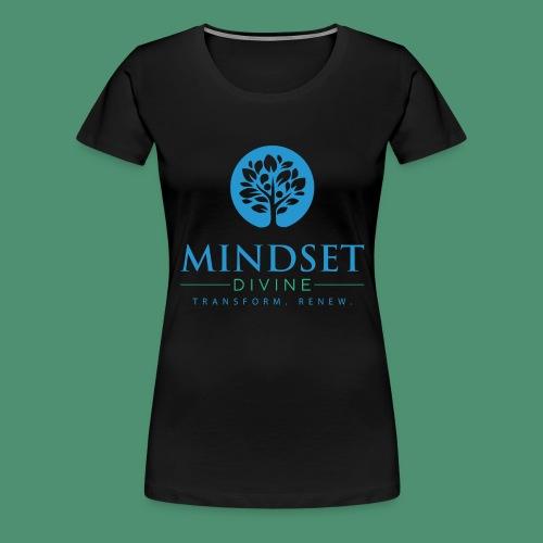 Mindset Divine logo 01 - Women's Premium T-Shirt