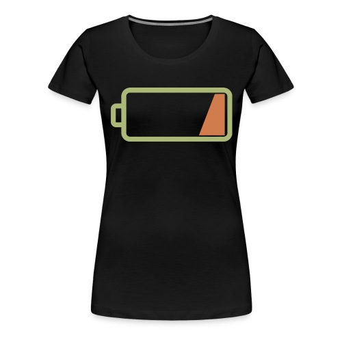 Silicon Valley - Low Battery - Women's Premium T-Shirt