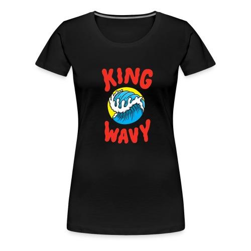 KYLE - King Wavy - Women's Premium T-Shirt