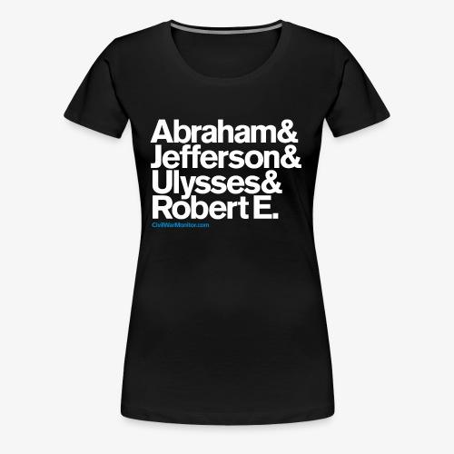 CIVIL WAR LEADERS - Women's Premium T-Shirt