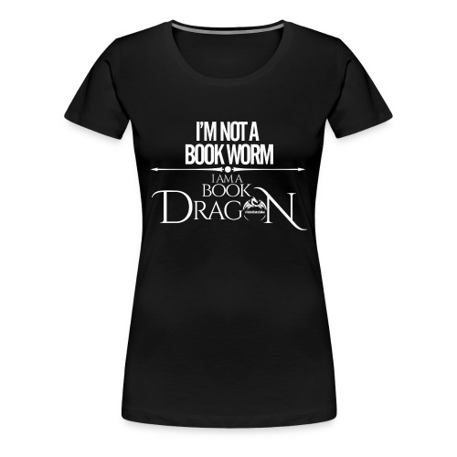 White Book Dragon - Women's Premium T-Shirt