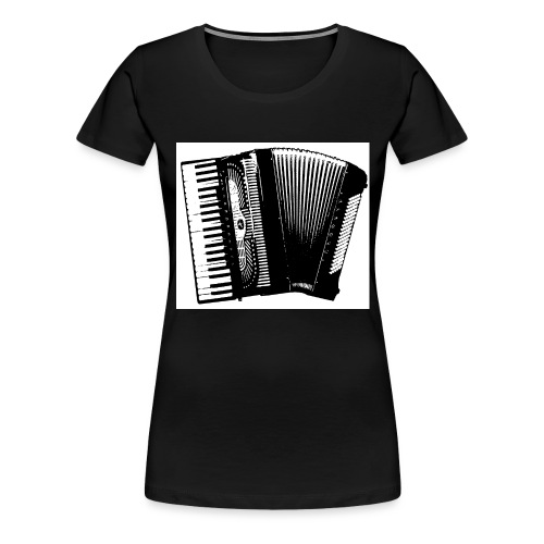 Accordian - Women's Premium T-Shirt