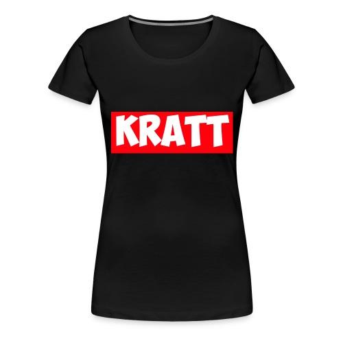 red kratt words - Women's Premium T-Shirt