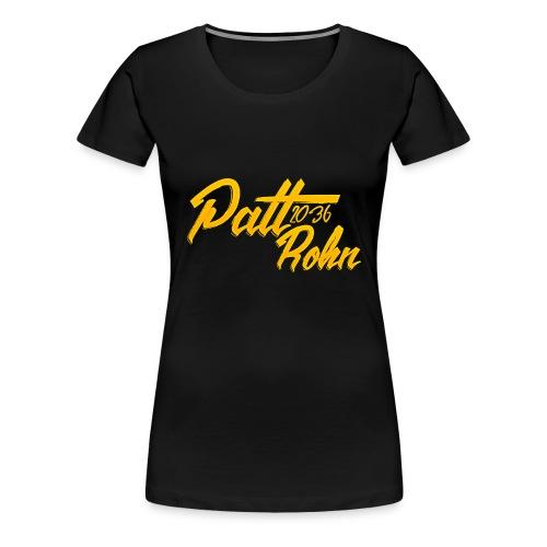 Patt Rohn 2036 Golden - Women's Premium T-Shirt