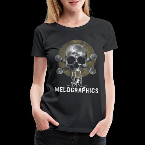 No Music Is Death - Women's Premium T-Shirt
