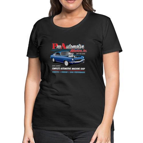ProAutoTeeDesign062317fin - Women's Premium T-Shirt