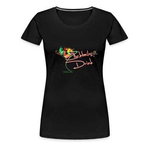 cocktailsdrink shirt - Women's Premium T-Shirt