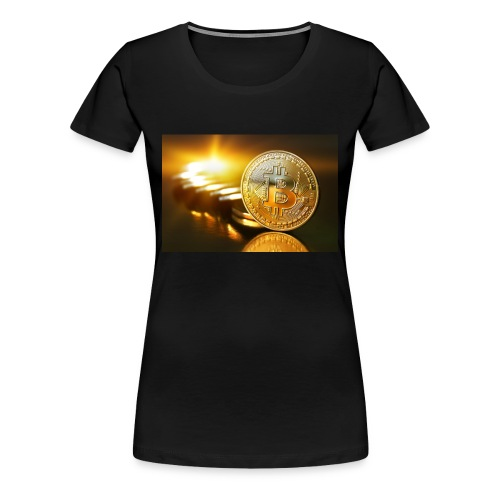 Bitcoin #1 - Women's Premium T-Shirt