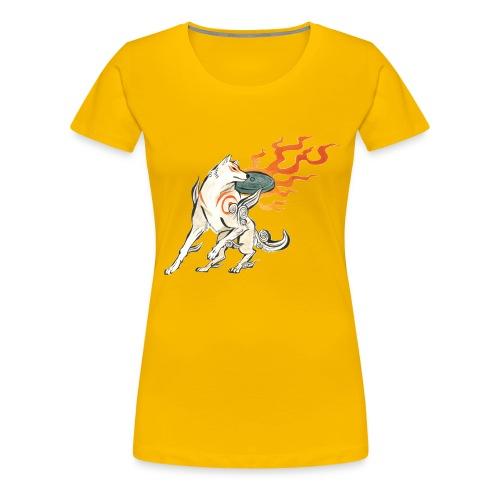 Fire wolf - Women's Premium T-Shirt