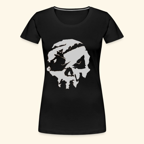 Sea of Thieves Inspired Skull - Women's Premium T-Shirt