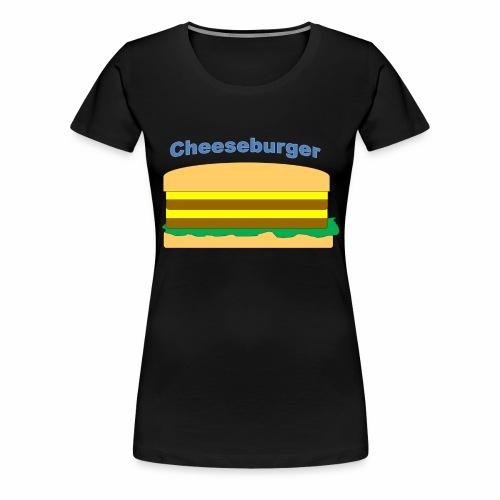 cheeseburger - Women's Premium T-Shirt