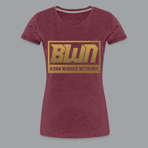 BWN (Gold) - Women's Premium T-Shirt