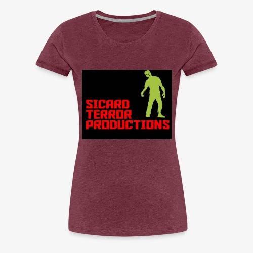 Sicard Terror Productions Merchandise - Women's Premium T-Shirt