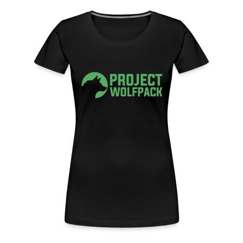 Project Wolfpack Shirt Logo - Women's Premium T-Shirt