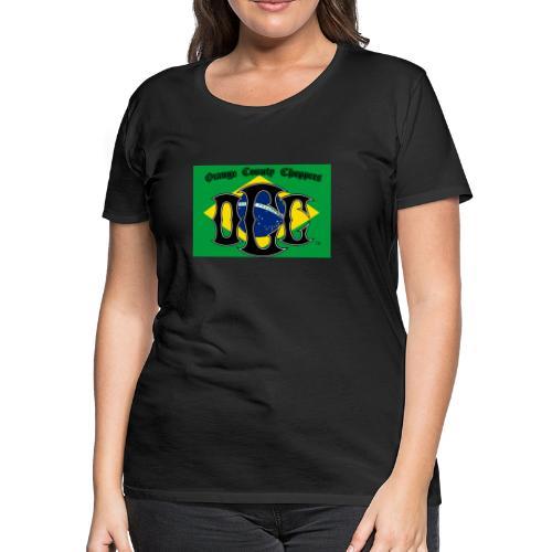 OCC Brazil - Women's Premium T-Shirt