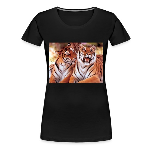 Tigers HD - Women's Premium T-Shirt