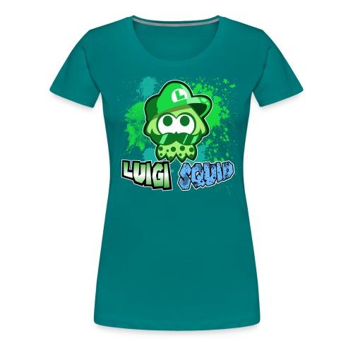 LuigiSquid - Women's Premium T-Shirt