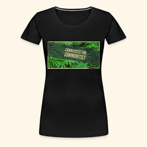cannavists t-shirt - Women's Premium T-Shirt