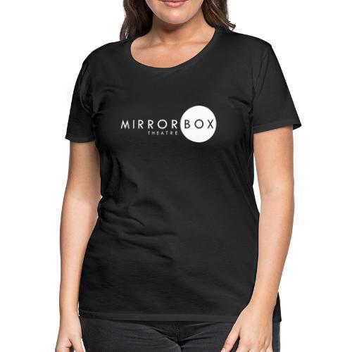 MIRRORBOX LOGO GEAR (WHITE) - Women's Premium T-Shirt
