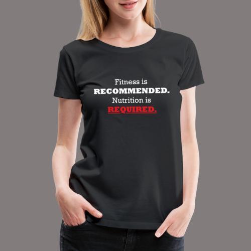 Ladies_Nutrition - Women's Premium T-Shirt