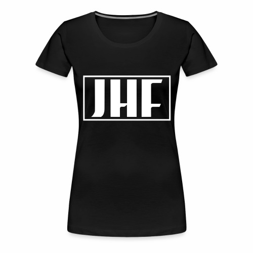 JHF logo 2 - Women's Premium T-Shirt