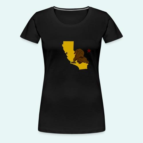 New California - Women's Premium T-Shirt