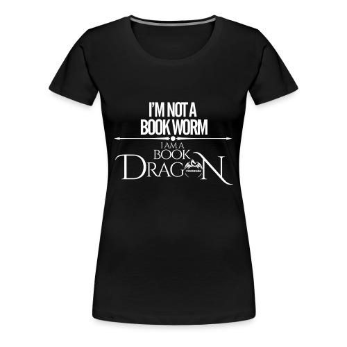 White Book Dragon - Women's Premium T-Shirt