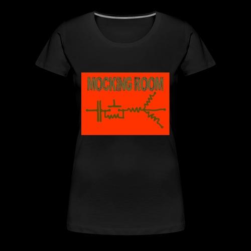 BID RED CAMO - Women's Premium T-Shirt
