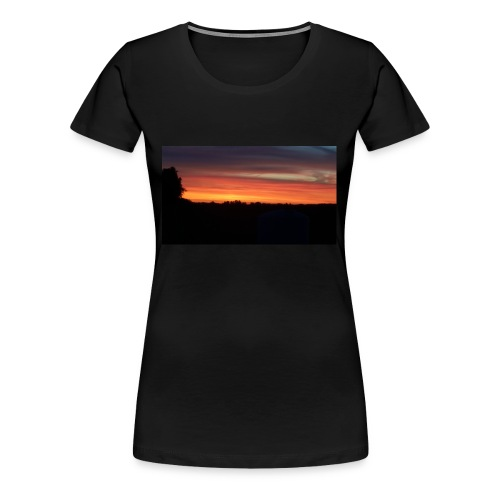 Summer Sunset - Women's Premium T-Shirt