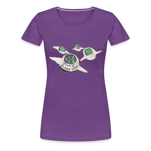 Tours of Planet Stupid - Women's Premium T-Shirt